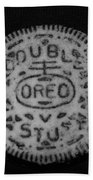 Oreo In Matte Finish Beach Towel