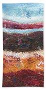 Organic Abstract Beach Towel