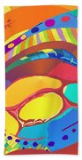 Organic Life Scan Or Cellular Light - Blood Beach Towel