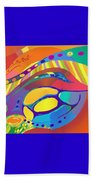 Organic Life Scan Or Cellular Light - Blue Beach Sheet