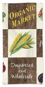 Organic Market Patch Beach Towel