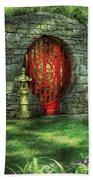 Orient - Door - The Moon Gate Beach Sheet