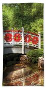 Orient - Bridge - Tranquility Beach Towel