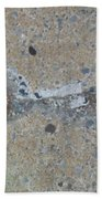 Original Damaged Pipes Beach Towel