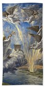 Sixth Trumpet Angel Beach Towel