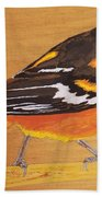 Oriole 3 Beach Towel