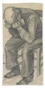 orn Out The Hague  November 1882 Vincent van Gogh 1853  1890 Beach Towel