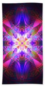 Ornament Of Light Beach Towel