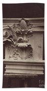 Ornamental Sculpture From The Paris Opera House (column Detail) Beach Towel