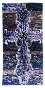 Ornate Cross 2 Beach Towel
