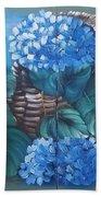 Ortencias Azules 2 Beach Sheet