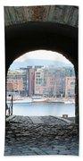 Oslo Castle Archway Beach Towel by Carol Groenen