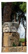 Ostia Antica - Theatre Marble Masks Beach Towel