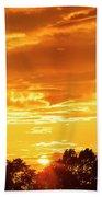Oswego Sunset 5 Beach Towel