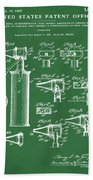Otoscope Patent 1927 Green Beach Sheet