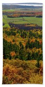 Ottawa River Valley In Fall At Tawadina Lookout At End Of Blanch Beach Towel