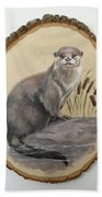 Otter - Growing Curiosity Beach Towel