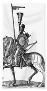 Ottoman Cavalryman, 1576 Beach Towel