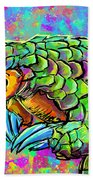 Pangolin Beach Towel