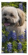 Our Bud In The Bonnets Beach Towel
