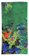 Our Green Planet Beach Towel
