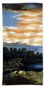 Our Heaven Born Banner Beach Towel