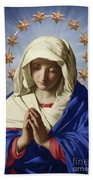 Our Lady Of Health Beach Towel