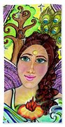 Our Lady Of Self-actualization Beach Towel