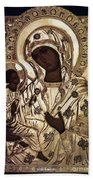 Our Lady Of Yevsemanisk Beach Towel