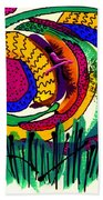 Our Own Colorful World IIi Beach Towel