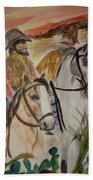 Out For A Ride Beach Towel