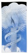 Out Of Darkness - Impressions Beach Towel