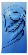 Out Of The Blue Aventurine Beach Towel