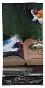 Out Of The Pond Beach Towel