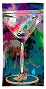 Out Of This World Martini Beach Towel