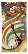 Out West II By Madart Beach Towel