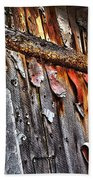 Outhouse Holzworth Historic Site Beach Towel