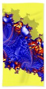 Outside The Fractal Beach Towel