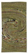 Oval Abstract Panel 6150-5 Beach Towel
