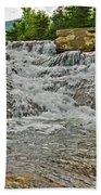 Over Natures Dam Beach Towel