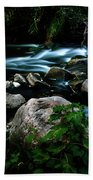 Over The Falls Beach Towel