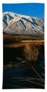 Owens River Valley Bishop Ca Beach Towel