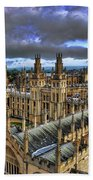 Oxford University - All Souls College Beach Towel