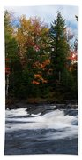 Oxtongue River Ontario Autumn Scenery Beach Towel