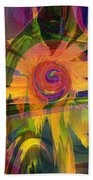 Oz And Poppies Beach Towel