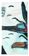 Oz Flying Monkeys  Beach Towel