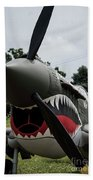 P - 40 Warhawk - 5 Beach Towel