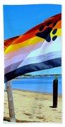 P Town Bear Flag Beach Towel