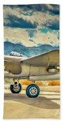 P38 Fly In Beach Towel