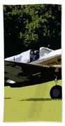 P40 Take Off Beach Towel